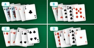 You're close to facing the dealer: Which of these is the strongest hand?