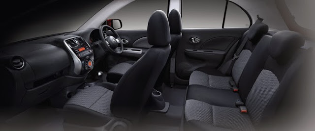 interior new nissan march