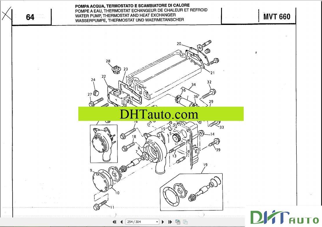 MANITOU MLT Forklift 630-1035 Parts Manual. Link download: