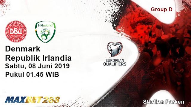 Prediksi Denmark Vs Republik Irlandia, Sabtu 08 Juni 2019 Pukul 01.45 WIB