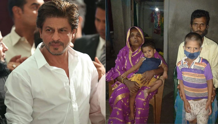 Shahrukh Khan and his Meer Foundation come forward to help the innocent child