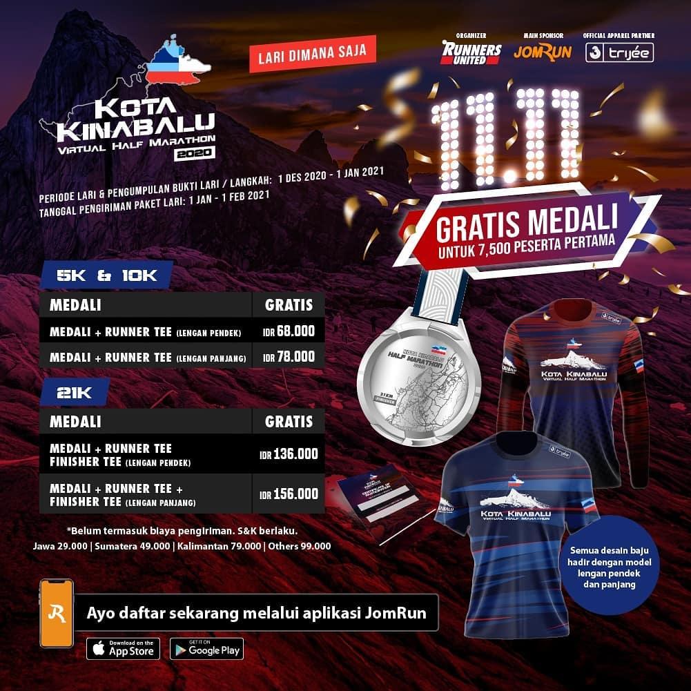 Kota Kinabalu Virtual Half Marathon • 2020