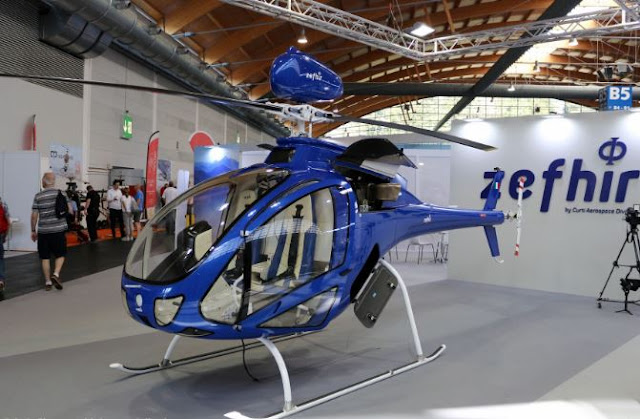 Curti Zefhir Helicopter