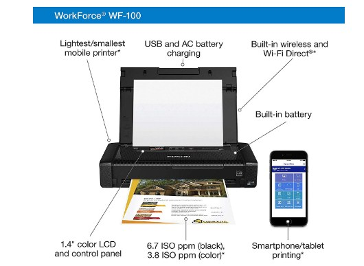 Support & Downloads Epson Workforce WF-100 Driver & Software
