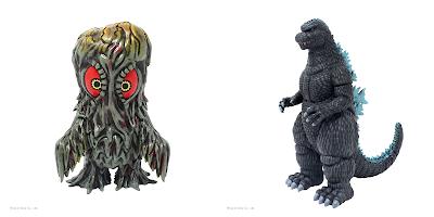 Godzilla '84 & Hedorah Soft Vinyl Figures Round 2 by Mondo