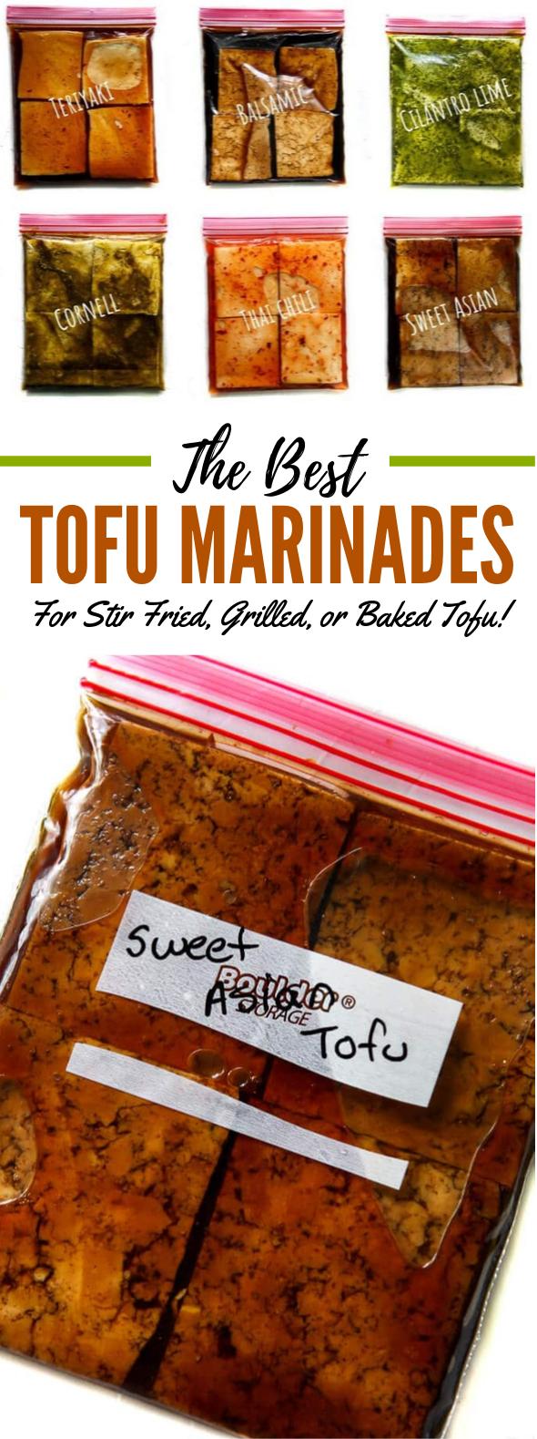 Tofu Marinade For Baking, Grilling, And Stir Fries! #veggies #vegetarian
