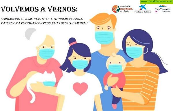 """Acuerdo de colaboración entre Salud Mental La Palma, Caja Canarias y fundación la Caixa """"Volvemos a Vernos"""""""