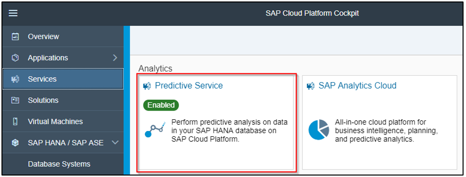 Using Predictive Analytics and Python on SAP Cloud Platform