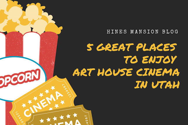 5 great places to enjoy art house cinema in Utah