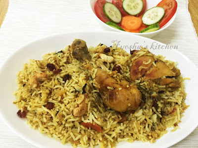 fried chicken biryani recipe rice recipes