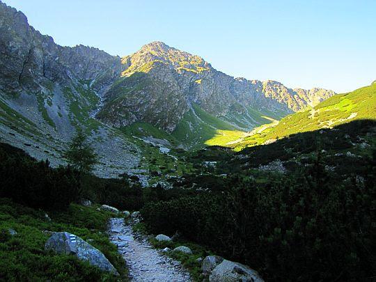 Dolina Smutna (słow. Smutná dolina).