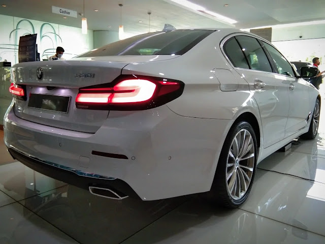 interior bmw seri 5 model baru 2021