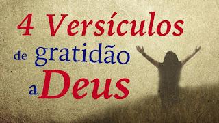 Versículos de Gratidão