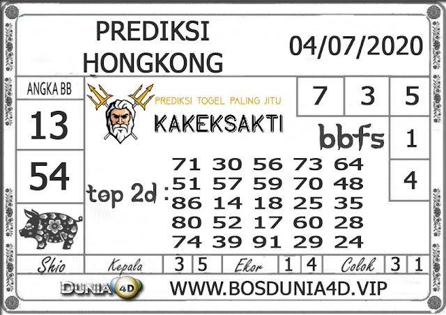 Prediksi Togel HONGKONG DUNIA4D 04 JULI 2020
