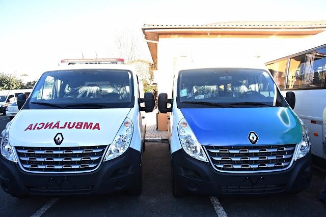 Prefeitura adquire uma Ambulância nova e mais três micro-ônibus para Colombo