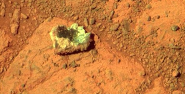 Mysterious Metal objects have been found on the surface of Mars