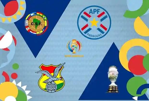 منتخب بارغواي,كوبا امريكا 2021,منتخب بوليفيا