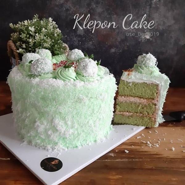 Resep Kue yang Lagi Viral Tapi di Modifikasi Jadi Klepon Cake