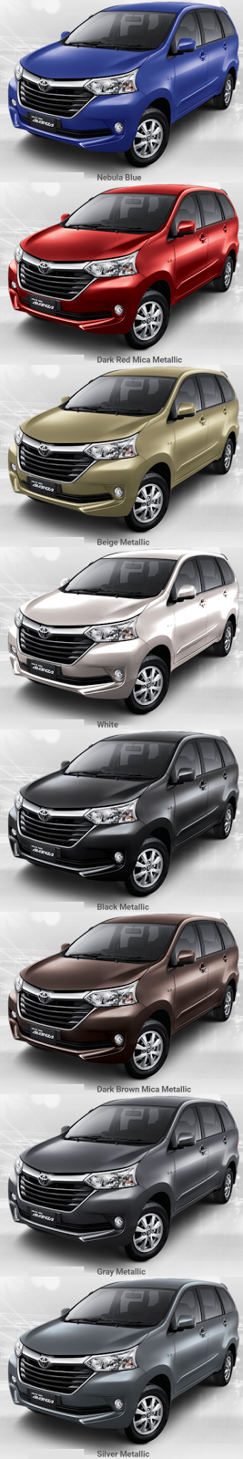 warna grand new avanza dark brown review toyota veloz dealer mobil jogja harga kredit promo