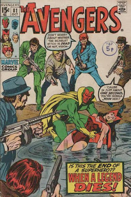 Avengers #81, the Vision and Scarlet Witch
