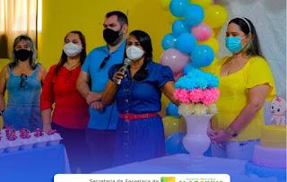 EM ALAGOINHA  PB, SECRETARIA DE AÇÃO SOCIAL, REALIZOU A ENTREGA DE 70 ENXOVAIS