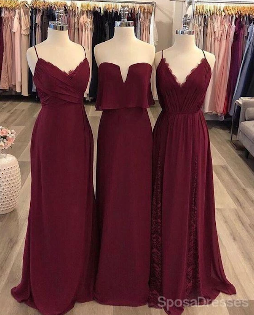 mismatched bridesmaid dresses | SposaDresses