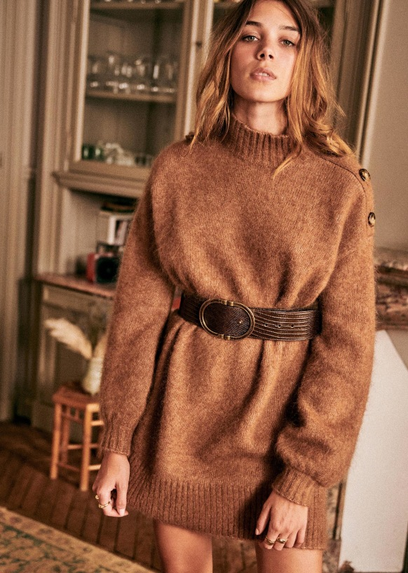 Style File | Mini Trend: Knit Dresses for Chilly Autumn Days