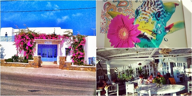 Hippie Fish restaurant Mykonos