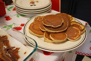 Peek into the Pantry: Melody Makes Rosa Parks' Featherlite Pancakes