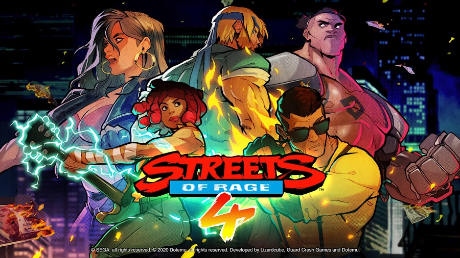 streets of rage 4 release pc steam ps4 switch xb1 classic side-scrolling beat 'em up axel stone blaze fielding adam cherry hunter floyd iraia dotemu guard crush games lizardcube sega