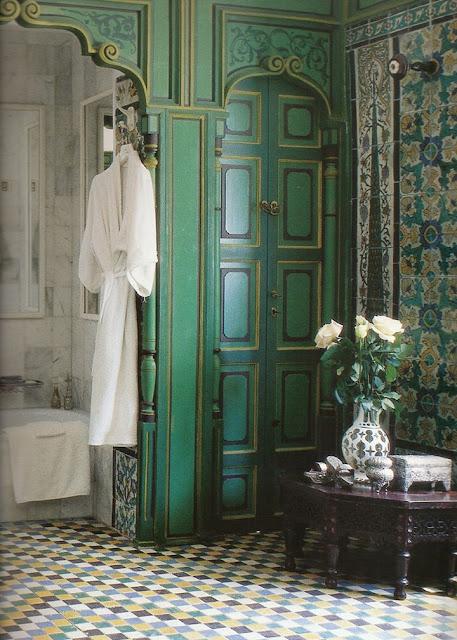 Bathroom Fiber Door Design