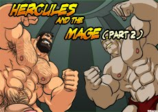 Hercules and the Mage (part 2)