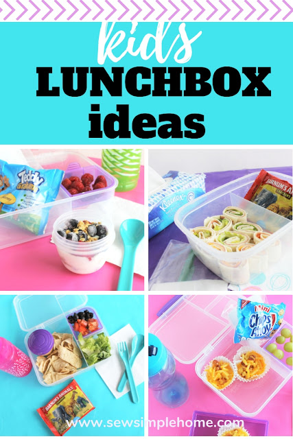 5 Quick Lunch Ideas Every Parent Should Make for their school age child. Plus, a free printable shopping list and menu to make the process easy and quick.