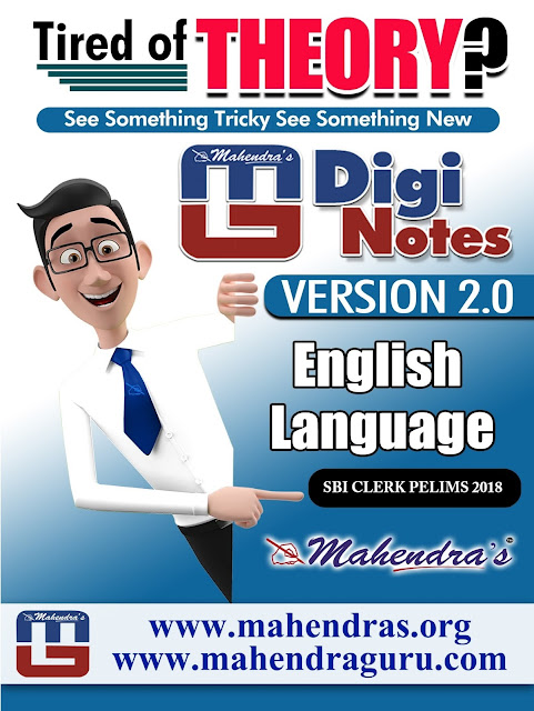 Digi Notes - 2.0 | Miscellaneous Questions For SBI Clerk Pelims | 25 .01. 2018
