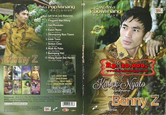 Benny Z - Kabek Nyato (Album Nada Pop Minang Exclusive)