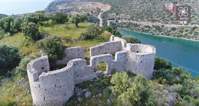 Το κάστρο του Γάλλου φιλέλληνα Φαβιέρου στην Τακτικούπολη Τροιζηνίας
