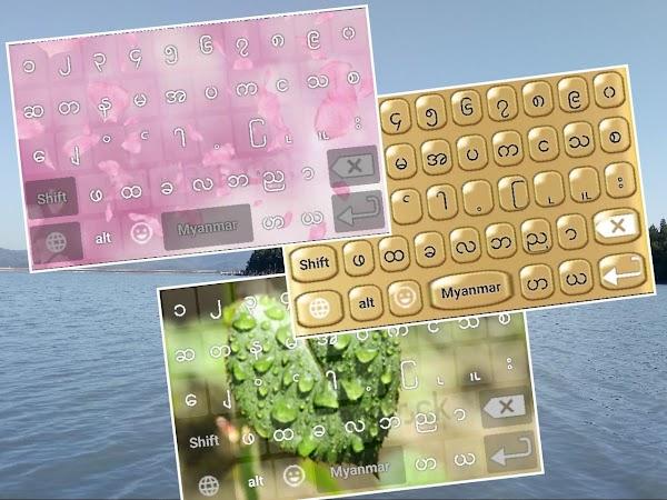 Z - Myanmar Keyboard Japanese Korean Thai Chinese