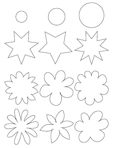 DIY Flores de Papel com Botões