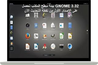 GNOME 3.32 بيئة سطح المكتب تحصل على الإصدار الأول من نقطة التحديث الآن