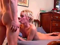Creamy pussy after sex