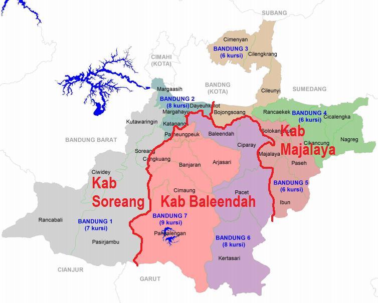 KangAtepAfia.com : Wacana Pemekaran Kabupaten Bandung