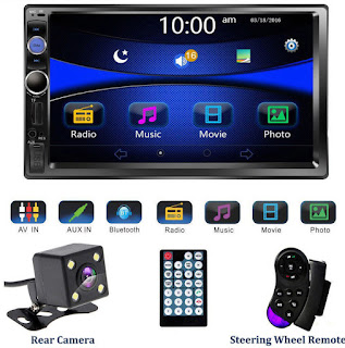 Universal Car Multimedia Stereo Audio Player