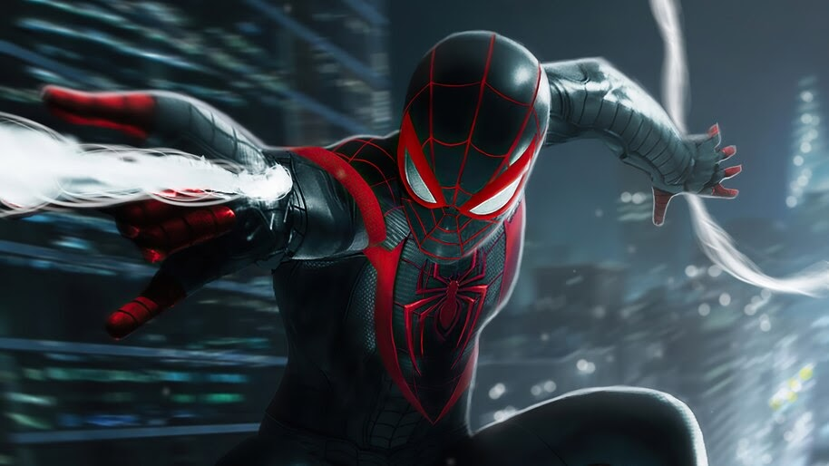 Spider-Man Miles Morales, PS5, Game, Web Shoot, 4K, #5.2200