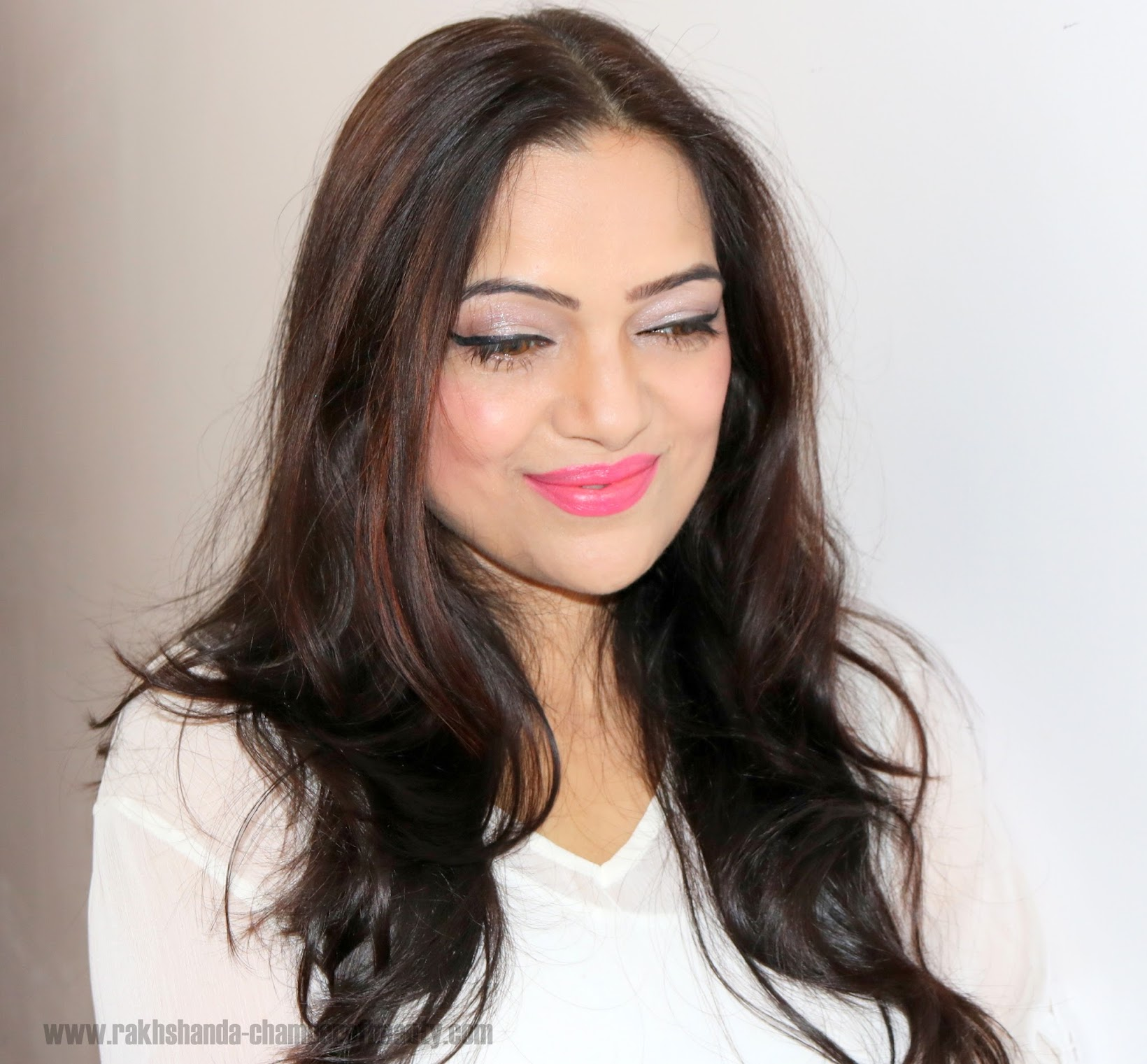 How to wear the L'Oreal Paris La Vie En Rose Collection, Pink Makeup Look, Indian beauty blogger