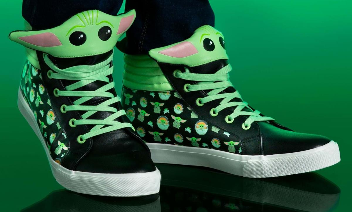The Baby Yoda sneakers that you didn't know existed and that you will want to have