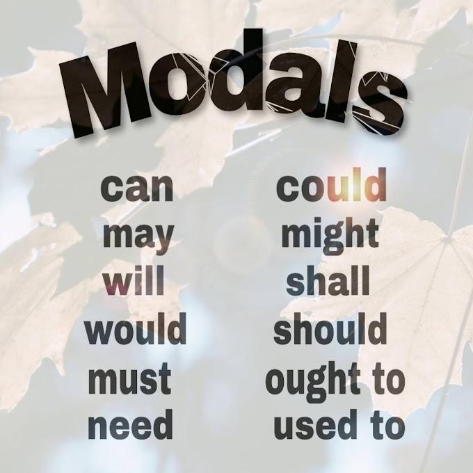 Modals in English Grammar