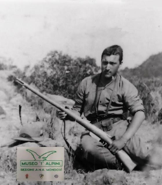 1° Reggimento Alpini, Oreste Martini MAVM  alla Memoria ,Caduto a  Uork Amba (Africa Orientale Italiana) 27 febbraio 1936  a Lui fu intitolata la Colonia elioterapica del Beila di Mondovì