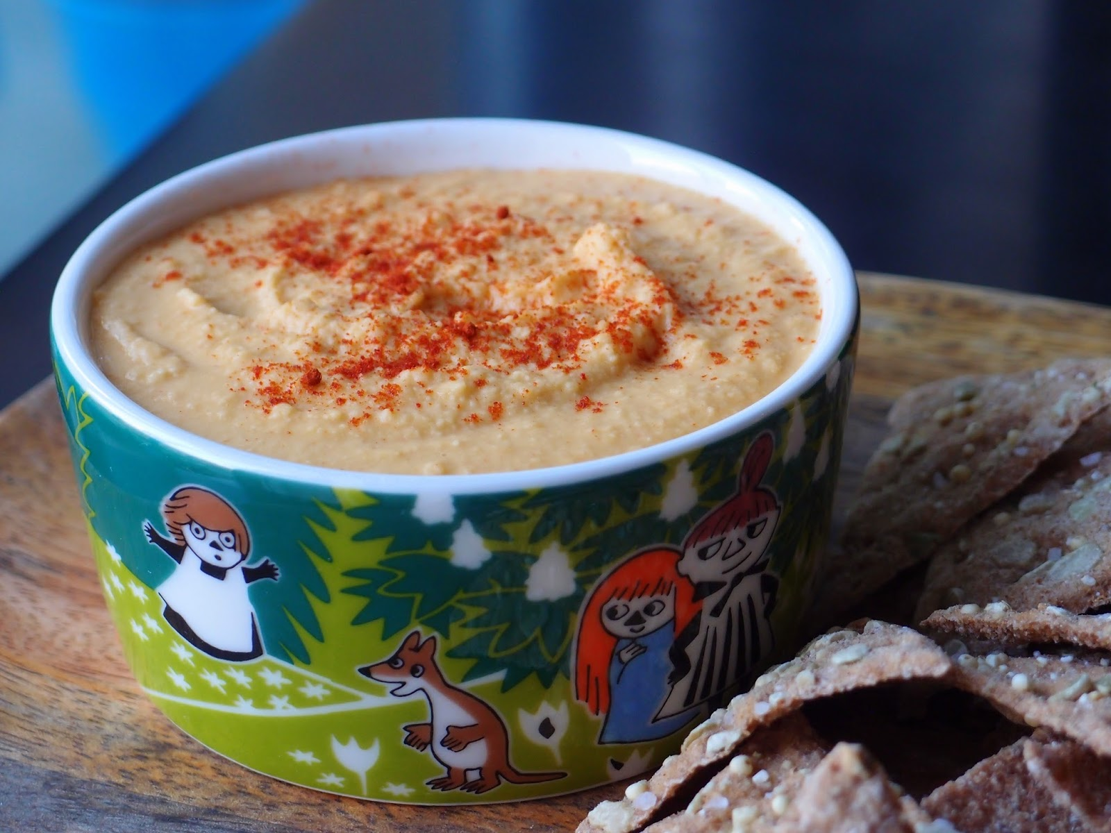 The VegHog: Red lentil hummus