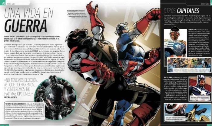 Capitan Marvel Y Los Falsos Vengadores Todo Lo Que: Imperdibles Vaqueros: Marvel Los Vengadores: La Enciclopedia