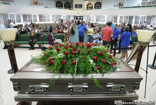 Funeral de Yiye Ávila